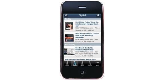 אפליקצייה אייפון אדוורטייזינג אייג' / צלם: יחצ